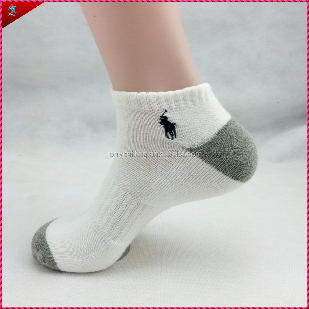 men cotton white sock mens crew socks