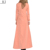 Turkish everyday casual women long maxi coat with buttons in front connection cheap muslim winter coat