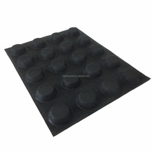 Silicone Bread Molds / Round Shaped Bread Forms Perforated Silicone Baking Sheets / Non Stick Bread Mat
