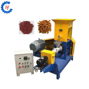 dog and cat feed making machine floating pellet extruder machine