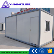 Module Chinese Mobile Single Floor Prefab Container House For Sale