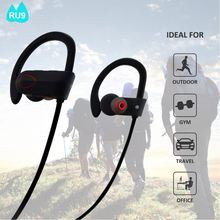 HD sound stereo bluetooth headset V4.1 cool bluetooth name bluetooth earphone for sport RU9
