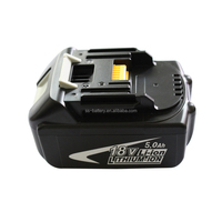 power tool battery lithium ion 18volt5ampere hour battery pack18v5000mah