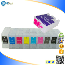 T8501-T8509 9 colors empty refill ink cartridge for Epson P800 printer ink cartridge with auto reset chip
