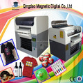 direct to t-shirt MDF uv led printer, uv led light flatbed printer