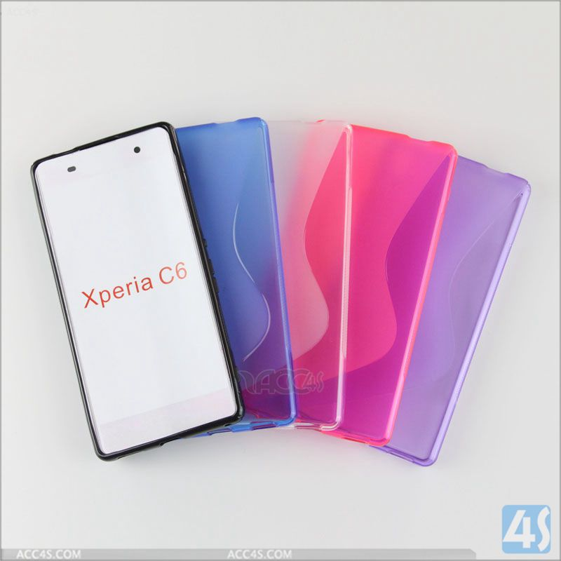 for Xperia C6 phone cover gel case phone soft plastic shell covers for sony cell phones