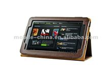 PU Leather Folio Case for Google Nexus 7 Tablet With Stand