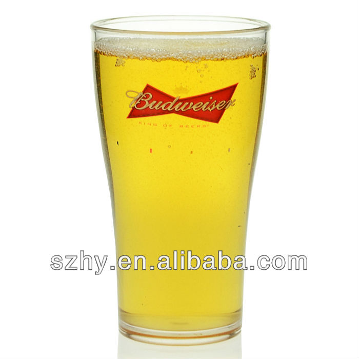 570ml Plastic pint glass