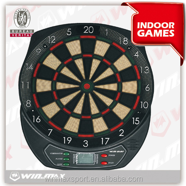 Indoor sports electronic custom magnetic dartboard