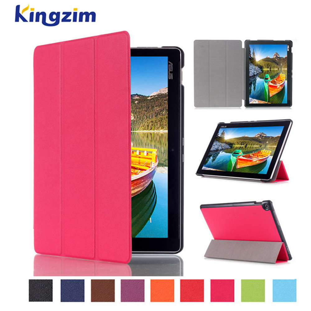 New arrival Heat Setting Flip Leather tablet Protective Case Cover for Asus Zenpad 10 Z300M 2016 with auto sleep