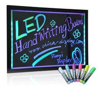 Hot Sale Fluent Hand Writing Board Light Box LED writing menu board