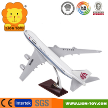 1/100 Scale Airbus A380 Airplane model Resin toy aircraft model for promotion