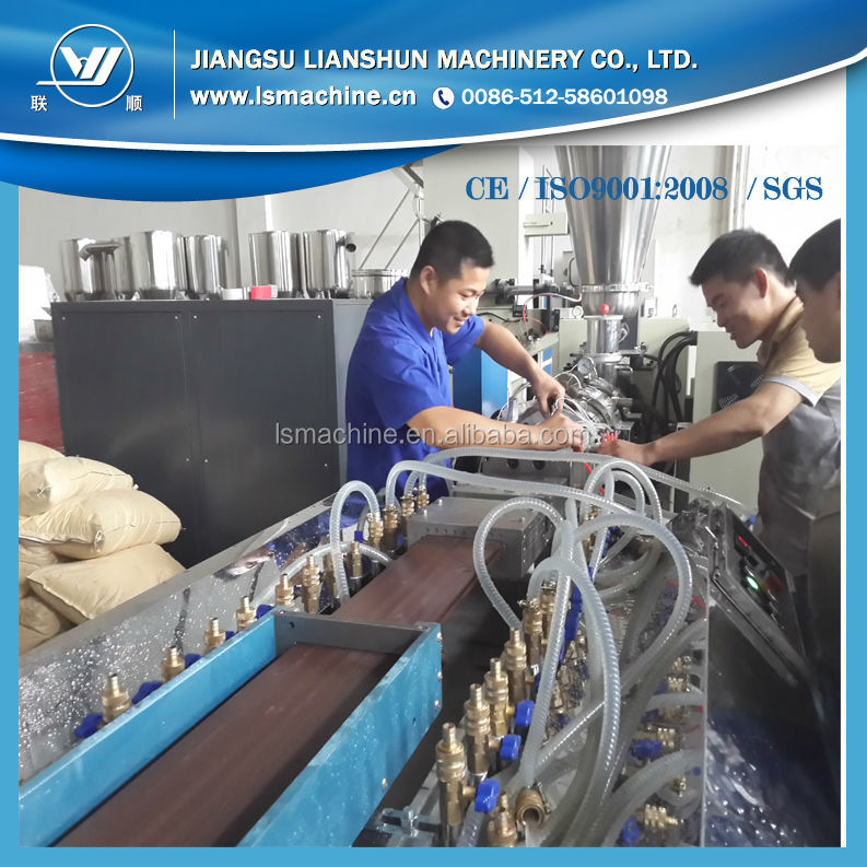 WPC Plastic Composite Decking Board making machine