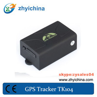 high quality car anti-theft gps track chip lurker gps tracker tk104