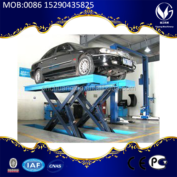 mini tilting car lift CE/ISO