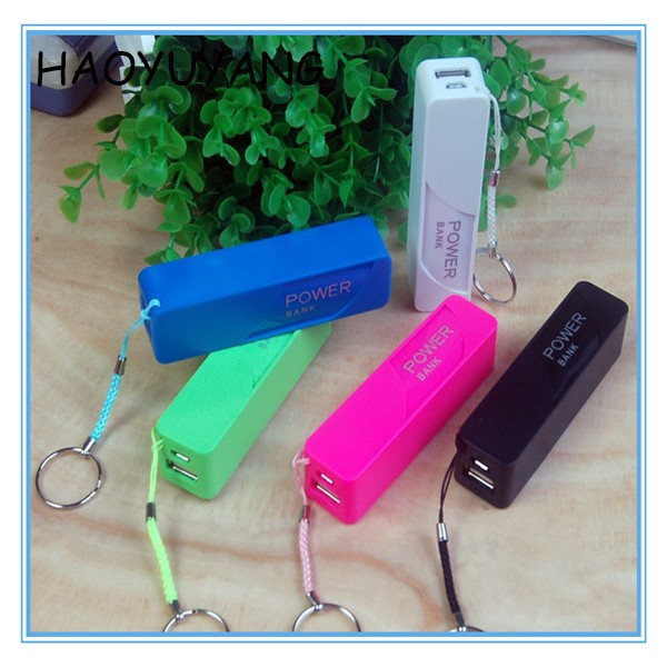 (Top Quality) 2017 Best Gift Model 2600mAh Key Chain Portable Perfume Power Bank for Laptop, Mobile Power bank 2600mAh