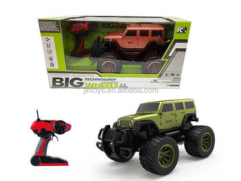 2.4G 1:12 Scale Big Wheel Remote Control Off Road Car 4 Ways With Light, High Speed RC Car