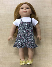 "wholesale 18"" american dolls handmade vinyl toys cute american girls"