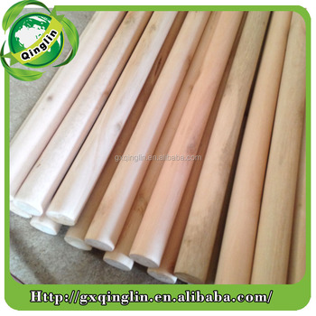 street sweeper brooms sticks, Natural hard wood broom stick, Natural eco wooden rod