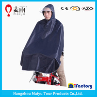 Maiyu adult bicycle rain coat hooded rain poncho