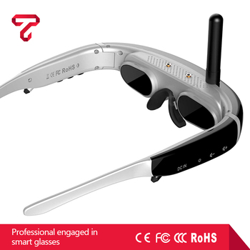 Multifunctional 4:3 HD screen smart VR Glasses With wireless function