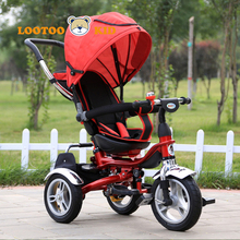 Cheap price rotate seat 3 wheel cycle for kid / best childrens trike / tricycle factory for children in china