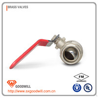 four way ball valves