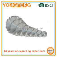circular saw blade for wood and aluminum cutting