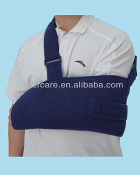 Arm sling & closure arm sling & immobilizing arm sling