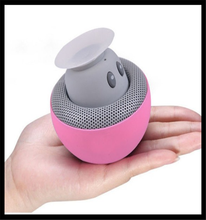 2017 Gift Cartoon Mushroom Colorful Mini Bluetooth Speaker Portable Wireless Bluetooth Speaker With Sucker