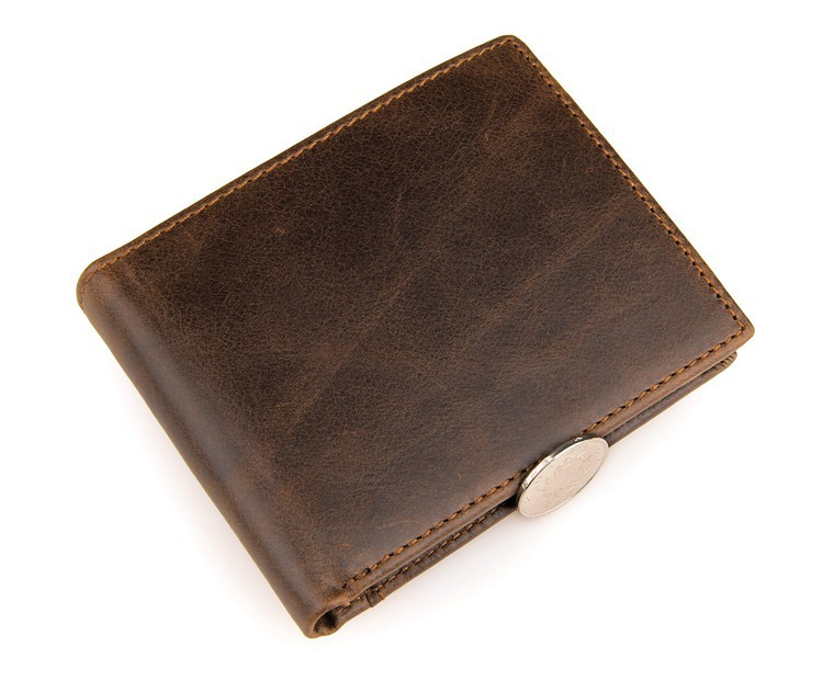 JMD Vintage Leather Card Holder Funky Wallet For Men # 8054B