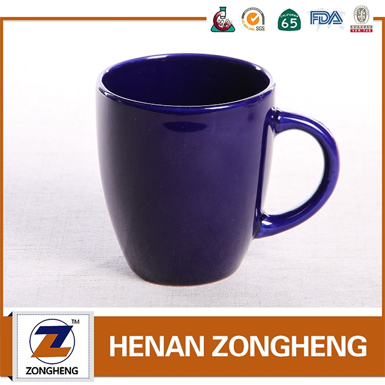 coffee mug of stoneware Color glaze 11oz 9oz from china