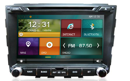 car audio multimedia for Hyundai IX25 with BT/USB/SWC/RDS/Phonebook