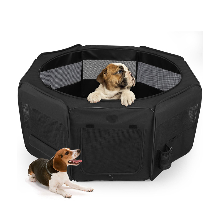 Customized deluxe and durable waterproof pet playpen pet kennel