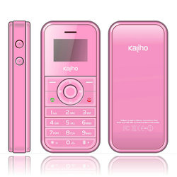 "2013 smallest cell phone 0.95"" inch O-LED screen single sim km119"