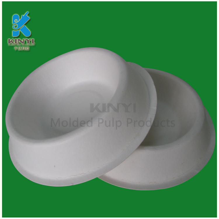 Bamboo Pulp Molded Animal Feed Tray Packaging
