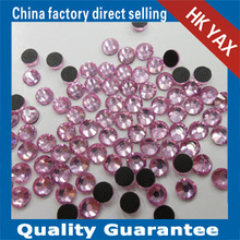 Wholesales DMC crystal Siam loose rhinestone hotfix crystal decorating in garment,DMC crystal decorated wedding dress