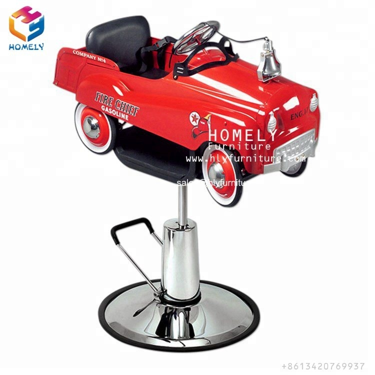 Homely Cheap styling Car Children Barber Kids Salon Chair for Children heavy duty barber chair