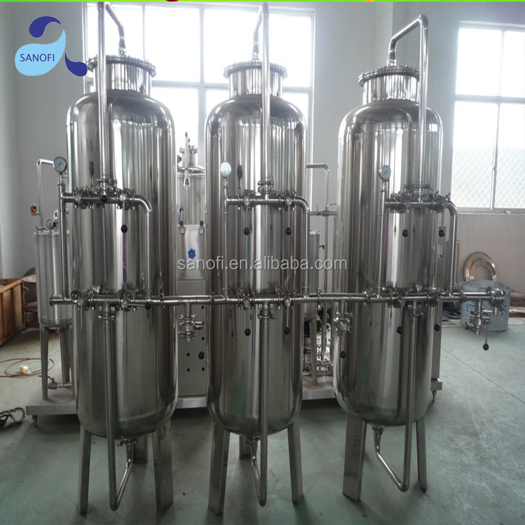 SS sand filter for water treatment