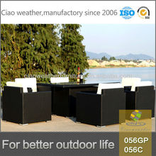 World source harbo garden furniture,table set for 6 people