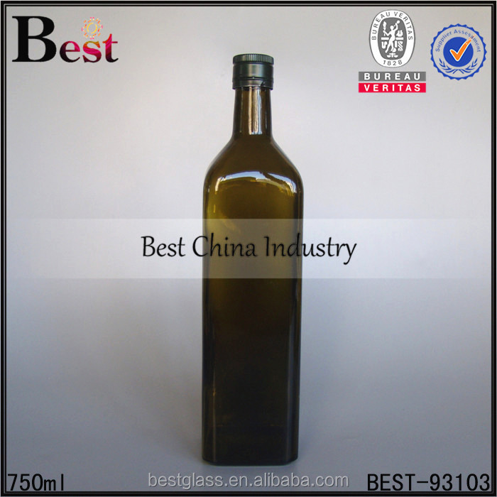 375ml 500ml 750 ml glass bottle with cork empty square glass wine whiskey glass bottle free sample factory