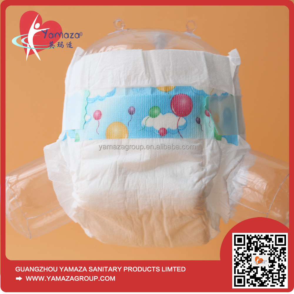 2017 Cheap absorption breathable baby fine diapers