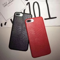 Luxury Shockproof Crocodile PU Leather Hard Smart Phone Cover Case For iPhone,For OPPO R11/R9,For VIVO X9s X9 X7 A57