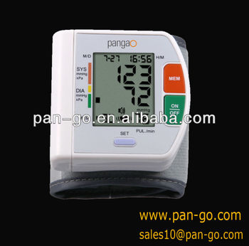 Pangao health care wrist blood pressure monitor product oem