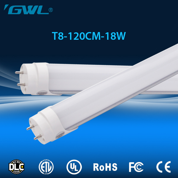Solid pins Chinese AC100-277V Input Voltage Indoor Lighting hot sale led tube t8 18w led read tube