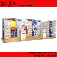 10x20 aluminum truss trade show expo stands, cheaper trade show exhibition booth system