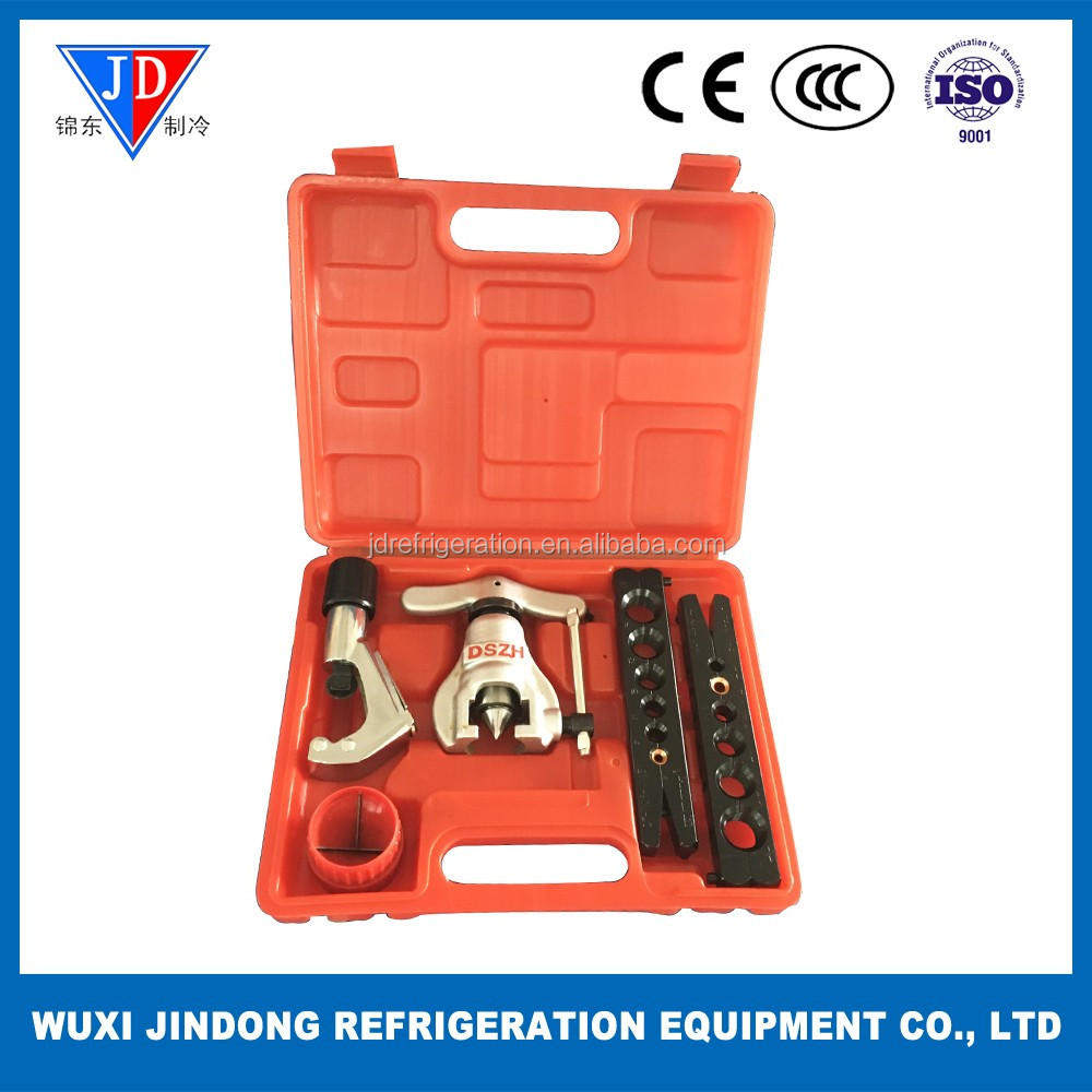 Manual flaring tool kits, 45 degree Eccentric Cone Type Flaring Tools CT-806AM-L