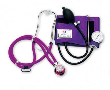 Latest product selling blood pressure equipment with stethoscope fine workmanship