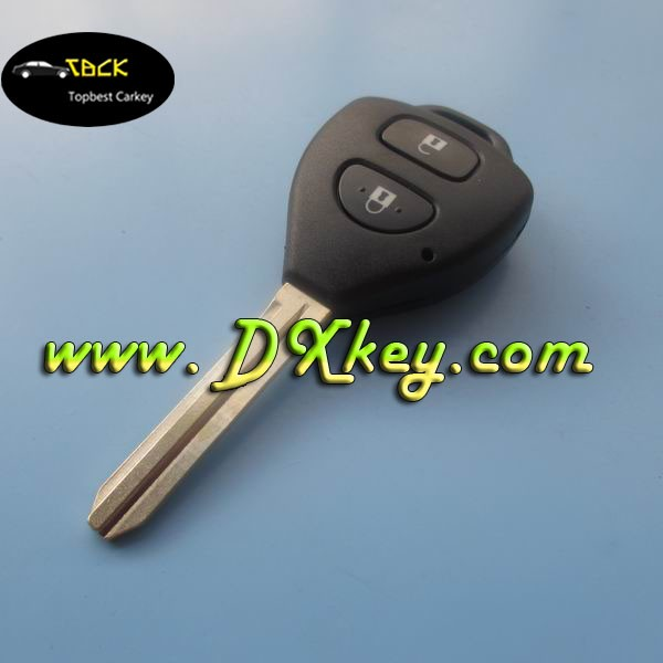 Original 2 buttons custom car key fob for Toyota Corolla key Toyota smart key remote