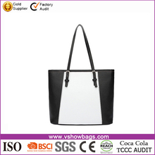 fashion european style multicolors pu leather handbag for women